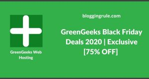 GreenGeeks Black Friday Deals 2020 | Exclusive [75% OFF] Cyber Monday Discount