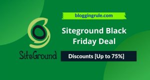 Siteground Black Friday Deal 2020 Grab Amazing [75% OFF] Discount